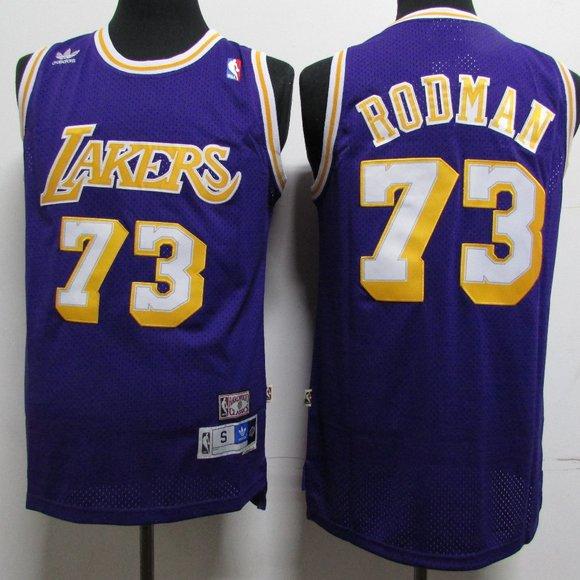 Shirts | La Lakers Dennis Rodman Purple Jersey | Poshmark